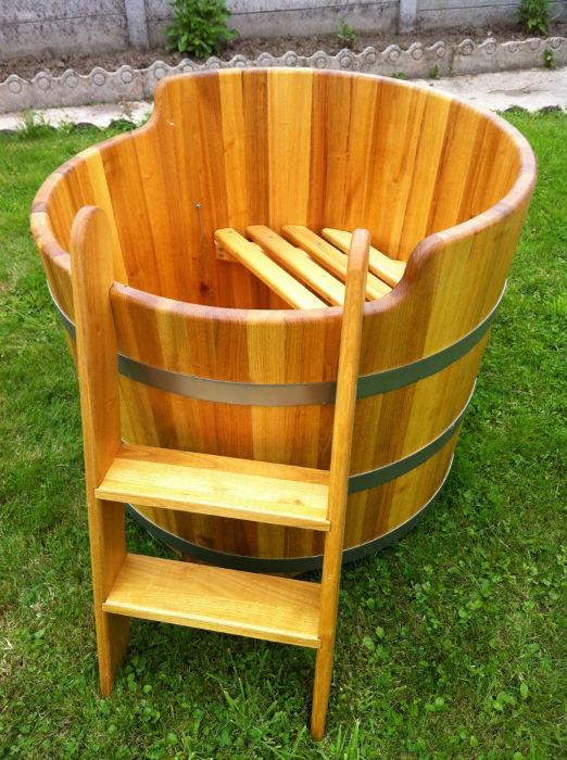 Baignoires bois - Baignoire en bois prix ...