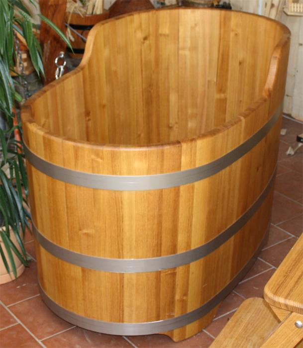 Baignoires bois for Baignoire largeur 90