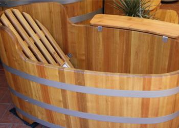 Baignoires bois for Baignoire largeur 60